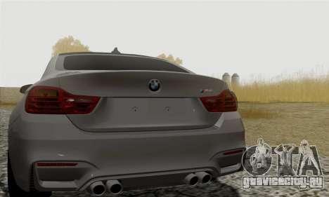 BMW M4 F82 для GTA San Andreas вид справа