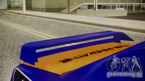 Elegy NR32 with Neon Exclusive PJ для GTA San Andreas вид справа