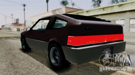 Blista Compact from Vice City Stories для GTA San Andreas вид слева