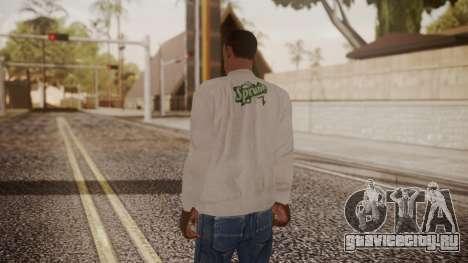 Sprunk Sweater Gray для GTA San Andreas третий скриншот