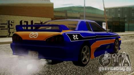 Elegy NR32 with Neon Exclusive PJ для GTA San Andreas вид слева