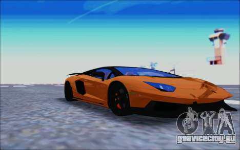Lamborghini Aventador MV.1 [IVF] для GTA San Andreas вид слева