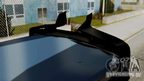 International Ayco Zafiro Tizayuca для GTA San Andreas вид сзади