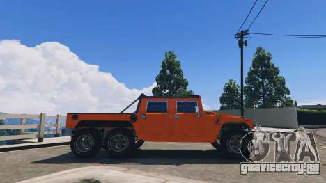 Hummer H1 6X6 v2.3 для GTA 5