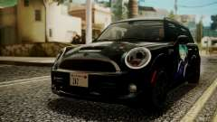 Mini Cooper Clubman 2011 Hatsune Miku Itasha для GTA San Andreas