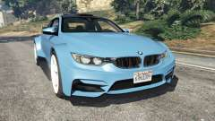 BMW M4 (F82) WideBody для GTA 5