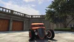 Ford Pickup HoTrod 1936 для GTA 5