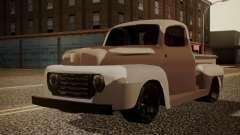 Ford F-100 1948 Simple Black Edition для GTA San Andreas