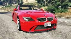 BMW M6 (E63) WideBody v0.1 [red]