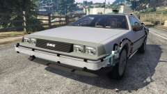 DeLorean DMC-12 Back To The Future v0.4 для GTA 5