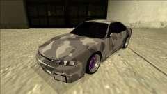 Nissan Silvia S14 Army Drift для GTA San Andreas