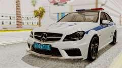 Mercedes-Benz С63 AMG ГИБДД МВД