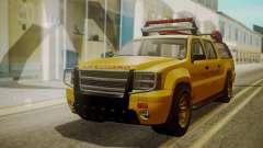 GTA 5 Declasse Granger Lifeguard IVF