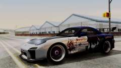 Mazda RX-7 Black Rock Shooter Itasha для GTA San Andreas