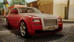 Rolls-Royce Ghost v1 для GTA San Andreas