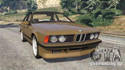 BMW M635 CSI (E24) 1986 для GTA 5