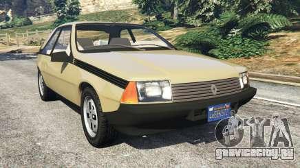 Renault Fuego 1980 для GTA 5