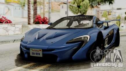 McLaren P1 GTR v1.0 для GTA San Andreas