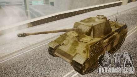 Panzerkampfwagen V Ausf. A Panther для GTA San Andreas