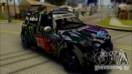 Mini Cooper Gymkhana 6 with Drift Handling для GTA San Andreas