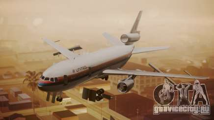 DC-10-10 United Airlines (80s Livery) для GTA San Andreas