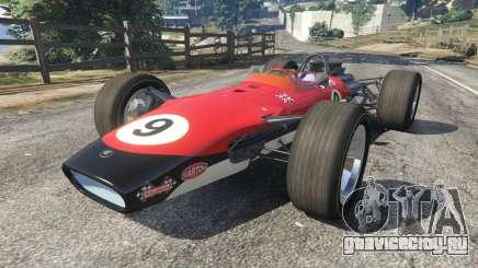 Lotus 49 1967 [no ailerons] для GTA 5