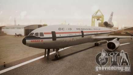 McDonnell-Douglas DC-10 Prototype N1339U для GTA San Andreas