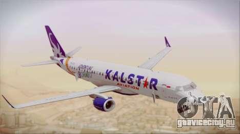 E-195 KalStar Aviation для GTA San Andreas вид справа