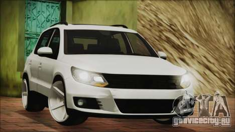 Volkswagen Tiguan Vossen Edition для GTA San Andreas вид слева