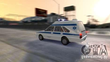 Daewoo FSO Polonez 1999 - Скорая помощь для GTA 4 вид снизу