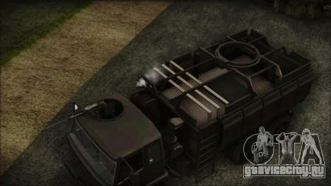 Archer Gun Truck для GTA San Andreas вид справа