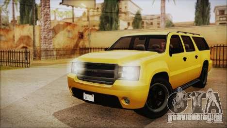 GTA 5 Declasse Granger IVF для GTA San Andreas