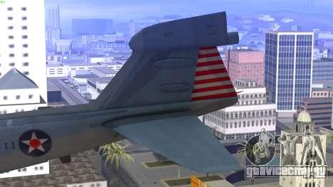 Northrop Grumman EA-6B Prowler VAQ-129 для GTA San Andreas вид сзади слева