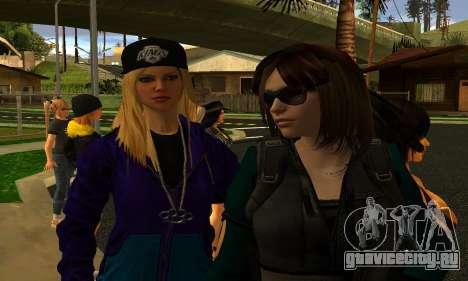 Womens Mega Pack by 7 Pack для GTA San Andreas четвёртый скриншот