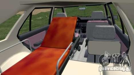 Daewoo FSO Polonez 1999 - Скорая помощь для GTA 4 вид изнутри