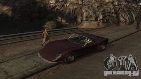 GTA V Stinger Classic для GTA 4 вид слева