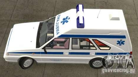 Daewoo FSO Polonez 1999 - Скорая помощь для GTA 4 вид слева