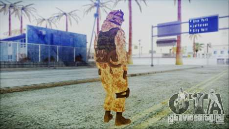 MW2 Russian Airborne Troop Desert Camo v1 для GTA San Andreas третий скриншот