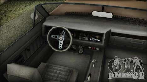 GTA 5 Albany Buccaneer Bobble Version IVF для GTA San Andreas вид сзади слева