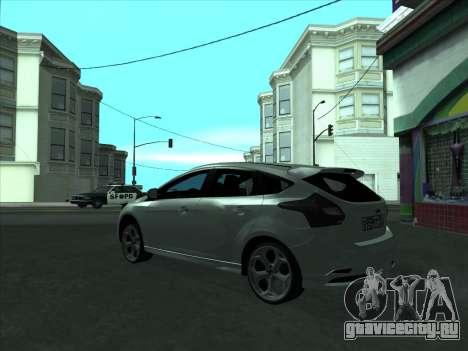 Ford Focus ST Усатый для GTA San Andreas вид справа