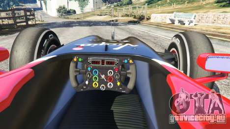 Virgin VR-01 [Тимо Глок] v1.1 для GTA 5 вид сзади справа