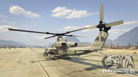 AH-1Z Viper для GTA 5 четвертый скриншот