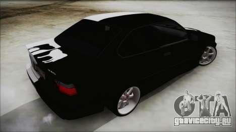 BMW M3 E36 Good and Evil для GTA San Andreas вид слева