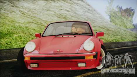 Porsche 911 Turbo 3.3 Coupe (930) 1986 для GTA San Andreas