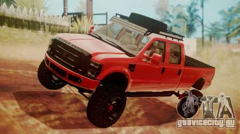 Ford F-350 2010 Lifted Sema Show для GTA San Andreas