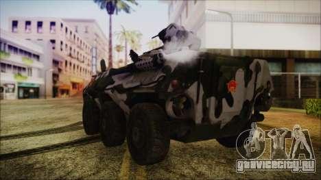 Norinco Type 92 from Mercenaries 2 для GTA San Andreas вид слева
