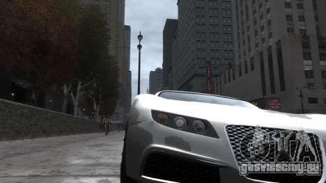 Adder HQ from GTA 5 для GTA 4 вид сзади