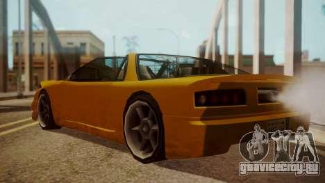 Better Super GT для GTA San Andreas вид слева