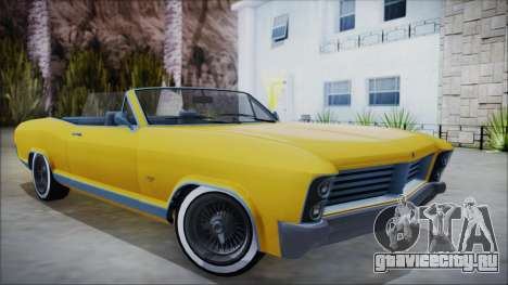 GTA 5 Albany Buccaneer Custom для GTA San Andreas