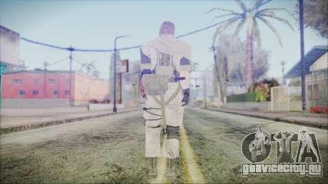 MGSV Phantom Pain Snake Scarf Desert для GTA San Andreas третий скриншот